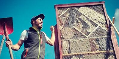 Florian Schier Biodiversität Insektenhotel