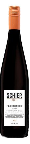 Mosel-Besonderheit vom Weingut Schier: Frühburgunder trocken